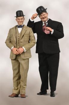 Laurel & Hardy Actionfiguren Doppelpack 1/6 Classic Suits Limited Edition 30-33 cm