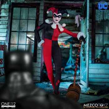 DC Comics Actionfigur 1/12 Harley Quinn Deluxe Edition 16 cm