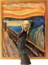 The Table Museum Figma Actionfigur The Scream 14 cm