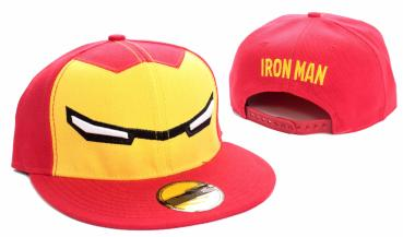 Iron Man Baseball Cap Yeux red