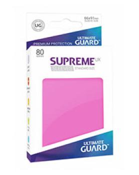 Ultimate Guard Supreme UX Sleeves Standardgröße Pink (80)