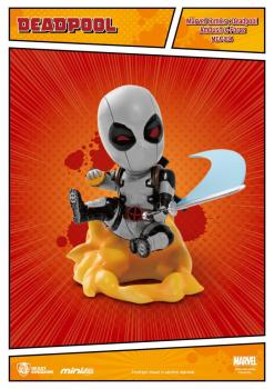 Marvel Comics Mini Egg Attack Figur Deadpool Ambush X-Force Version SDCC Exclusive 9 cm