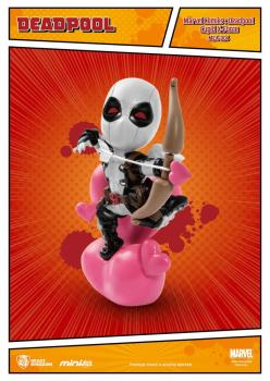 Marvel Comics Mini Egg Attack Figur Deadpool Cupid X-Force Version SDCC Exclusive 10 cm