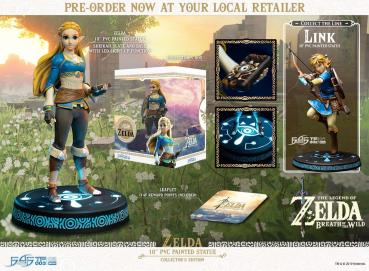 The Legend of Zelda Breath of the Wild PVC Statue Zelda Collector's Edition 25 cm