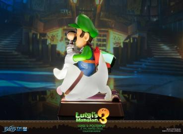 Luigi's Mansion 3 PVC Statue Luigi & Polterpinscher Collector's Edition 23 cm