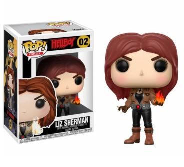 Hellboy POP! Movies Vinyl Figur Liz Sherman 9 cm