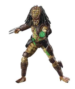 Predator 2 Actionfigur 1/18 Battle Damaged City Hunter Previews Exclusive 11 cm