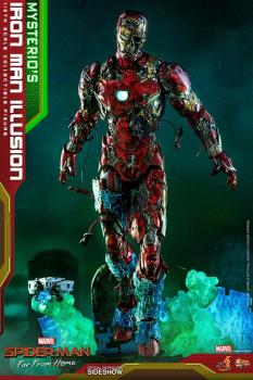 Spider-Man: Far From Home MMS PVC Actionfigur 1/6 Mysterio's Iron Man Illusion 32 cm