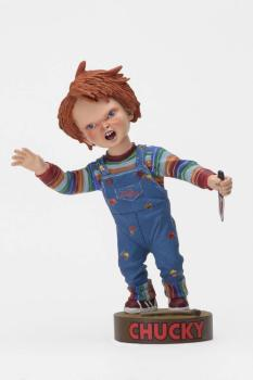 Chucky Die Mörderpuppe Head Knocker Wackelkopf-Figur Chucky with Knife 18 cm