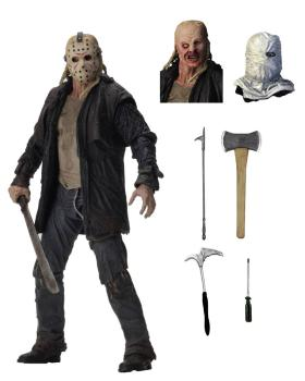 Freitag der 13. 2009 Actionfigur Ultimate Jason 18 cm