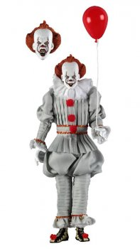 Stephen Kings Es 2017 Retro Actionfigur Pennywise 20 cm