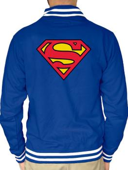 Superman College Jacke Logo
