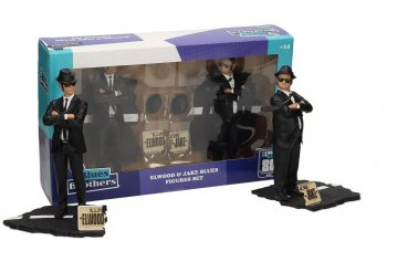 Blues Brothers Movie Icons Statuen Doppelpack Jake & Elwood 18 cm