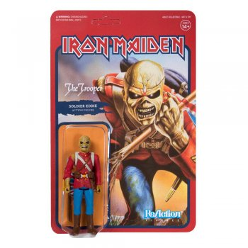 Iron Maiden ReAction Actionfigur The Trooper 10 cm