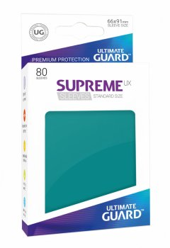 Ultimate Guard Supreme UX Sleeves Standardgröße Petrolblau (80)