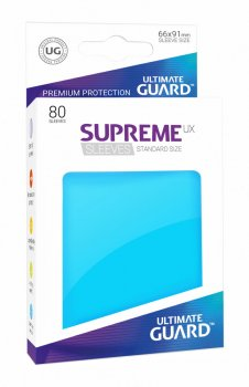Ultimate Guard Supreme UX Sleeves Standardgröße Hellblau (80)