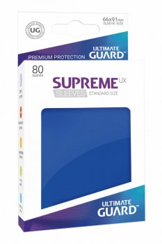 Ultimate Guard Supreme UX Sleeves Standardgröße Blau (80)