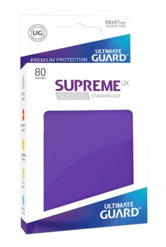 Ultimate Guard Supreme UX Sleeves Standardgröße Violett (80)