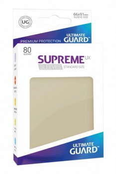 Ultimate Guard Supreme UX Sleeves Standardgröße Sand (80)
