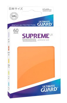 Ultimate Guard Supreme UX Sleeves Japanische Größe Orange (60)