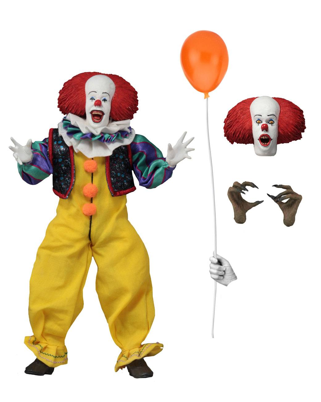 Stephen King/'s It 1990 Action Figure Pennywise The Dancing Clown 20cm