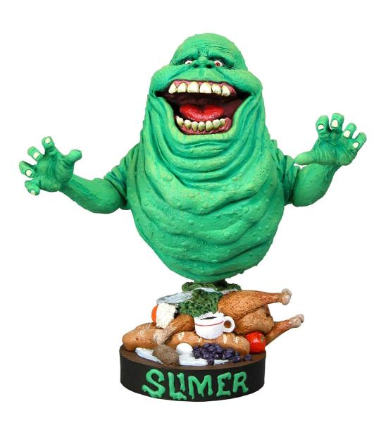 Ghostbusters Head Knocker Wackelkopf-Figur Slimer 18 cm