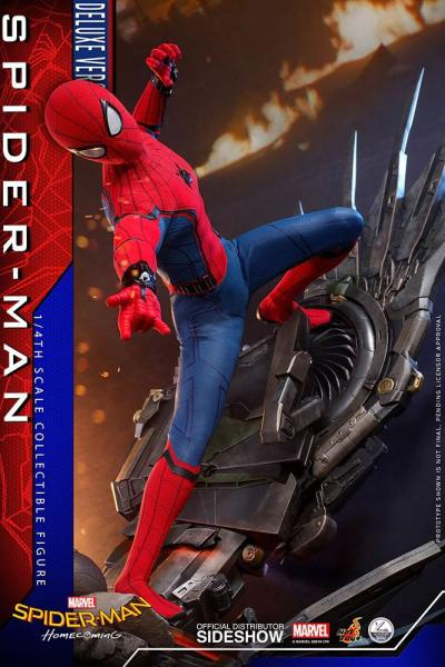 Spider-Man: Homecoming Quarter Scale Series Actionfigur 1/4 Spider-Man Deluxe Version 44 cm