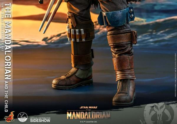 Star Wars The Mandalorian Actionfiguren Doppelpack 1/4 The Mandalorian & The Child 46 cm