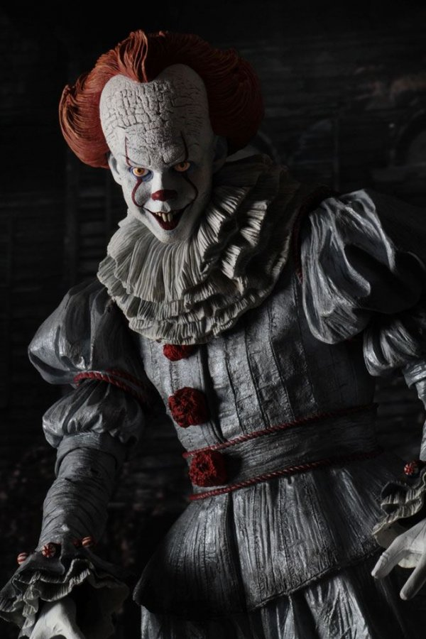 Stephen Kings Es 2017 Actionfigur 1/4 Pennywise (Bill Skarsgard) 46 cm