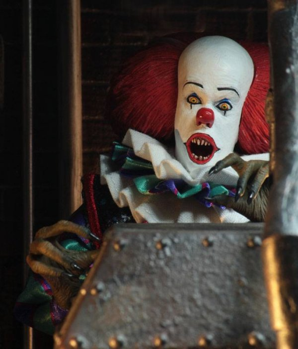Stephen Kings Es 1990 Retro Actionfigur Pennywise 20 cm