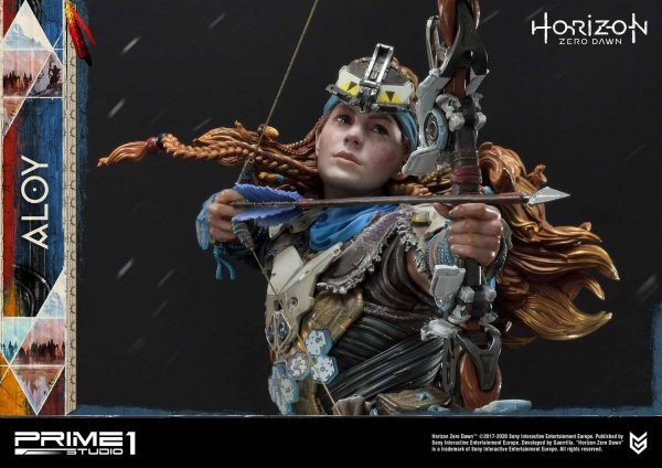 Horizon Zero Dawn Statue 1/4 Aloy Shield Weaver Armor Set 70 cm