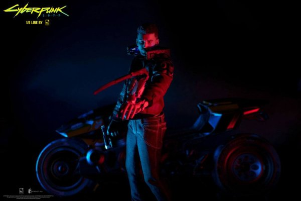 Cyberpunk 2077 Actionfiguren V Male & Yaiba Kusanagi Set