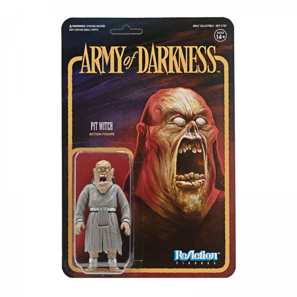 Army of Darkness ReAction Actionfigur Pit Witch 10 cm