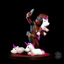 Marvel Q-Fig Diorama Deadpool #unicornselfie 10 cm